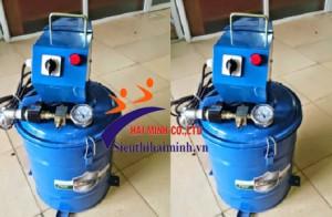 Nguyên lí hoạt động và cấu tạo của máy bơm mỡ