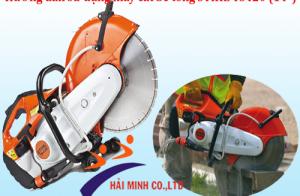 """Hướng dẫn sử dụng máy cắt bê tông STIHL TS420 (14"""")"""