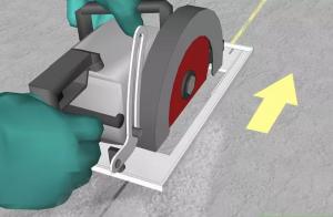 7 bước cắt bê tông đơn giản với máy cắt bê tông mang tính chính xác và thẩm mỹ nhất.