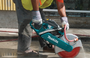 Nắm vững những nguyên tắc sử dụng máy cắt bê tông