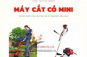 [3] Máy cắt cỏ mini giá dưới 2 triệu đồng
