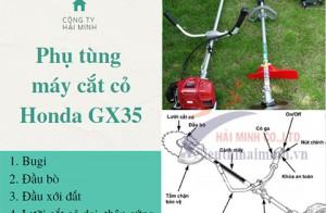 TRỌN BỘ phụ tùng máy cắt cỏ Honda GX35
