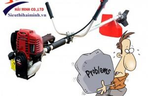 Xử lý một số vấn đề trong quá trình sử dụng máy cắt cỏ