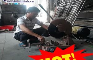 Cần chú ý điều gì khi sử dụng máy cắt ống inox?