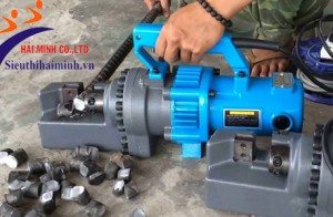 Các đặc tính nổi bật của máy cắt sắt thủy lực