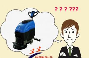 Vì sao máy chà sàn không hoạt động ? và cách xử lý