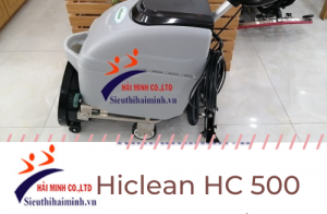 Máy lau sàn công nghiệp Hiclean hc 500 có tốt như lời đồn