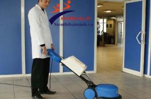 Máy chà sàn đơn có cấu tạo và nguyên lý hoạt động ra sao ?