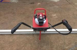 Cách sử dụng máy đầm thước bê tông an toàn hiệu quả