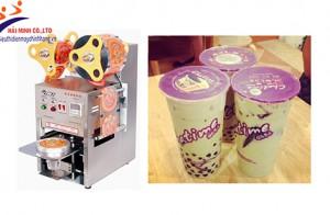 Hướng dẫn lắp đặt máy dập nắp cốc trà sữa đúng cách