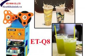 Cách sử dụng máy dập nắp cốc tự động ET-Q8 đúng cách
