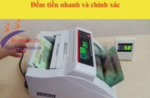 Đếm Tiền Nhanh Và Chuẩn Xác Nhờ Máy Đếm Tiền Xiudun 2200C