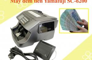 Tiền giả tinh vi cũng không qua mắt được máy đếm Yamafuji SC-6200