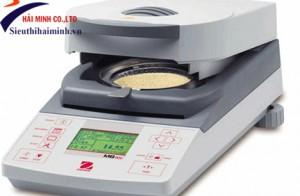 Thiết bị đo độ ẩm: Các bước sử dụng cân sấy ẩm Ohaus MB45