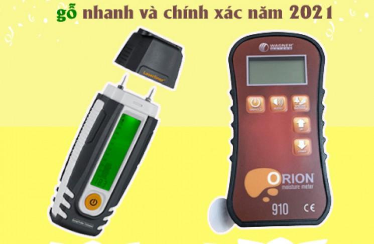 Lật tẩy 2 máy đo độ ẩm gỗ nhanh và chính xác năm 2021