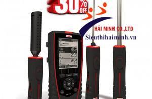 Máy đo độ ẩm không khí cầm tay đa năng KIMO HQ 210 tiêu chuẩn Châu Âu