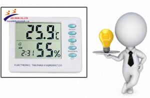 Cách đo độ ẩm của không khí bằng máy đo độ ẩm trong không khí TigerDirect HMAMT-109