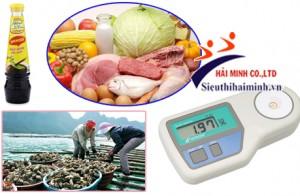 Tổng hợp 7 ứng dụng và vai trò của máy đo độ mặn cầm tay hiện nay