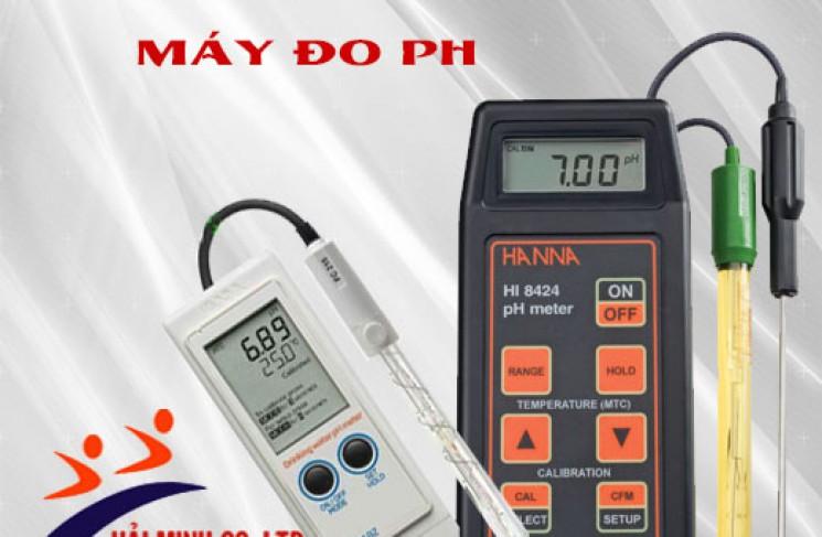 Vệ sinh đầu dò máy đo pH bằng dung dịch hóa chất