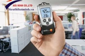 Ứng dụng của máy đo nhiệt độ độ ẩm trong công nghiệp