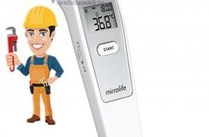 Sửa máy đo nhiệt độ Microlife ở đâu? Chi phí?