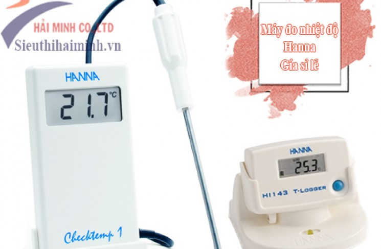 Đại lý bán SỈ LẺ máy đo nhiệt độ hanna chính hãng