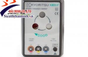 Máy đo thứ tự pha kyoritsu 8031f đảm bảo đo pha chính xác