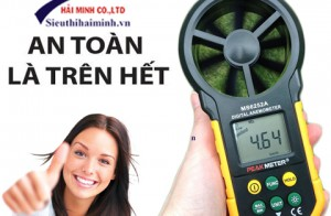 Đảm bảo an toàn khi sử dụng máy đo tốc độ gió cầm tay