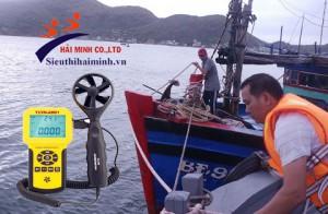 Máy đo tốc độ gió nào tốt nhất cho người đi biển, thuyền buồm