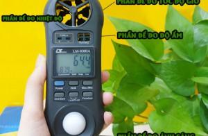 Hướng dẫn cáchsử dụng máy đo vi khí hậu Lutron LM-8000A
