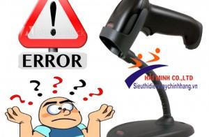 Máy đọc mã vạch bị lỗi phải làm thế nào?