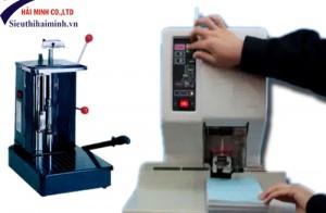 Cách sử dụng máy khoan đóng chứng từ BJ-03B1 đơn giản tại văn phòng
