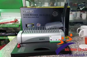 Máy đóng lò xo nhựa TEXET CB-12-450N đục lỗ nhanh chóng