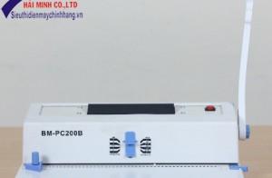 Mua máy đóng sách gáy xoắn cuộn Silicon BM-PC200B chính hãng tại Hồ Chí Minh