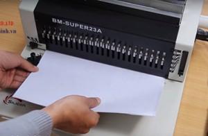 Tư vấn chọn mua máy đóng sách phù hợp với nhu cầu sử dụng