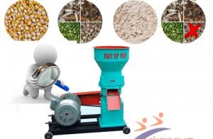 Sử dụng máy ép cám viên trục đứng có tốt cho chăn nuôi