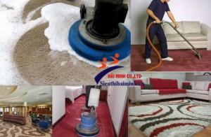 Một vài chức năng cơ bản của máy giặt thảm phun hút