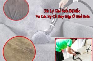 Xử Lý Ghế Sofa Bị Mốc Và Các Sự Cố Hay Gặp Ở Ghế Sofa