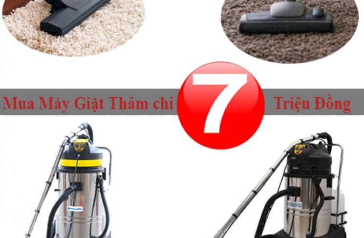 Chỉ 7 Triệu Đồng Sở Hữu Ngay Máy Giặt Thảm Công Nghiệp Chất Lượng