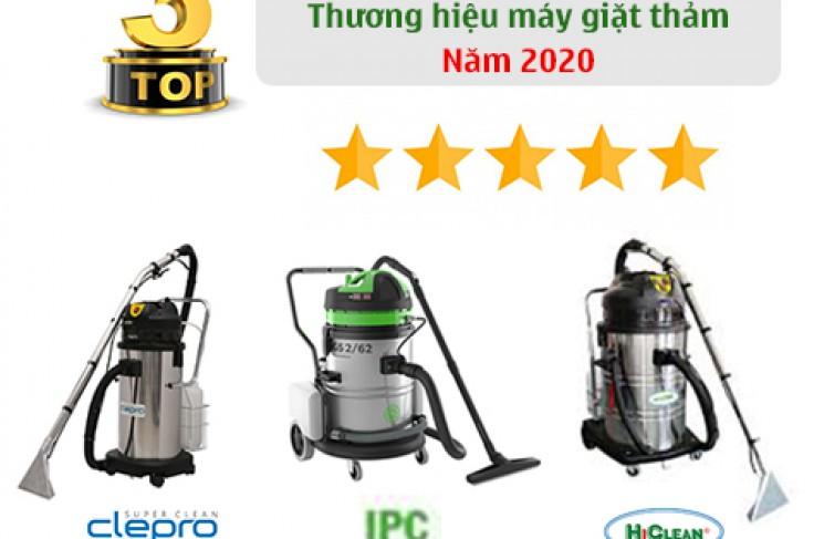 Top 3 Thương Hiệu Máy Giặt Thảm Nên Tham Khảo Năm 2020