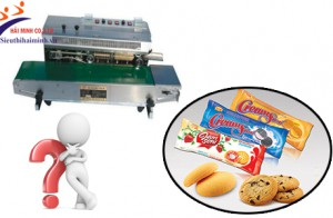 Nên mua máy hàn miệng túi nào cho công nghiệp bánh kẹo?