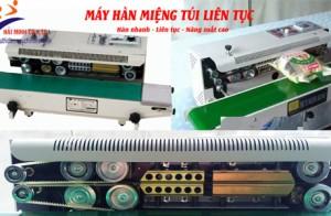Lý do máy hàn miệng túi liên tục được sử dụng trong công nghiệp