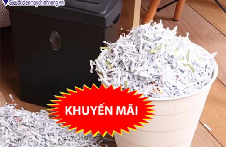 Vì sao bạn nên sử dụng máy hủy tài liệu công nghiệp cao cấp