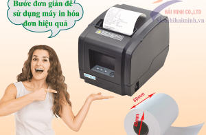 3 Bước đơn giản để sử dụng máy in hóa đơn hiệu quả