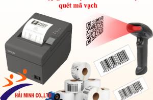 Cách kết hợp giữa máy in hóa đơn và máy quét mã vạch