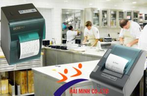 Những dòng máy in hóa đơn chuyên dụng cho nhà bếp tốt