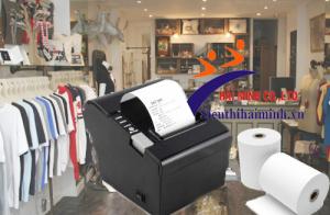 Shop quần áo nên dùng loại máy in hóa đơn nào?