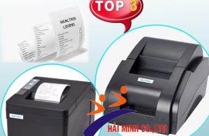 Top 3 máy in hóa đơn tính tiền giá rẻ khổ K58