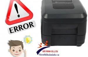 Hướng dẫn khắc phục máy in mã vạch bị lỗi