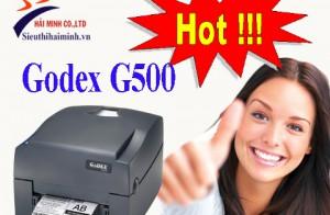 Máy in mã vạch tem nhãn Godex G500 hot nhất trong phân khúc giá rẻ